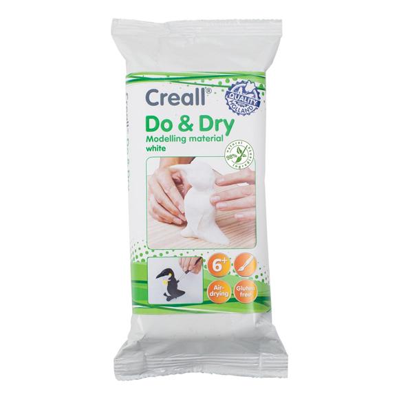 חימר קל - Creall Do & Dry - wit