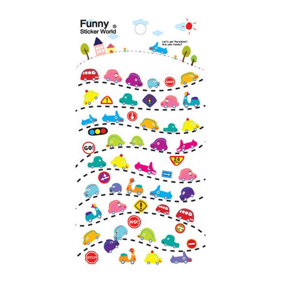 מדבקות פאף Funny Sticker - Ttitti Bangbang