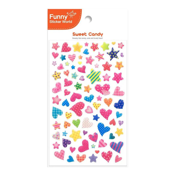 מדבקות אפוקסי Funny Sticker -Sweet Candy