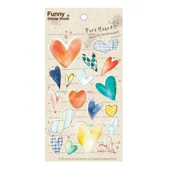 מדבקות Funny Sticker World - Pure Heart I