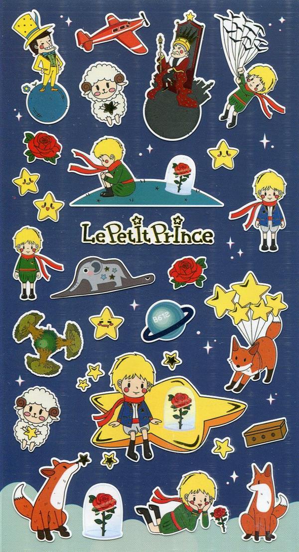 מדבקות ניייר Funny Sticker - Le Petit Prince