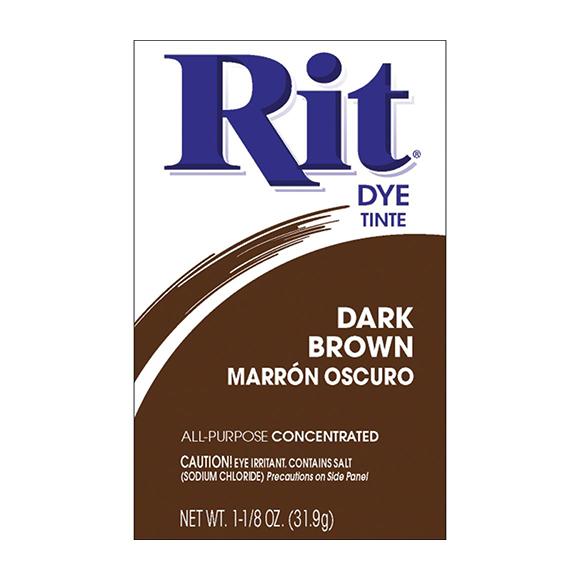אבקת צבע לבדים Rit Dye Powder - Dark Brown