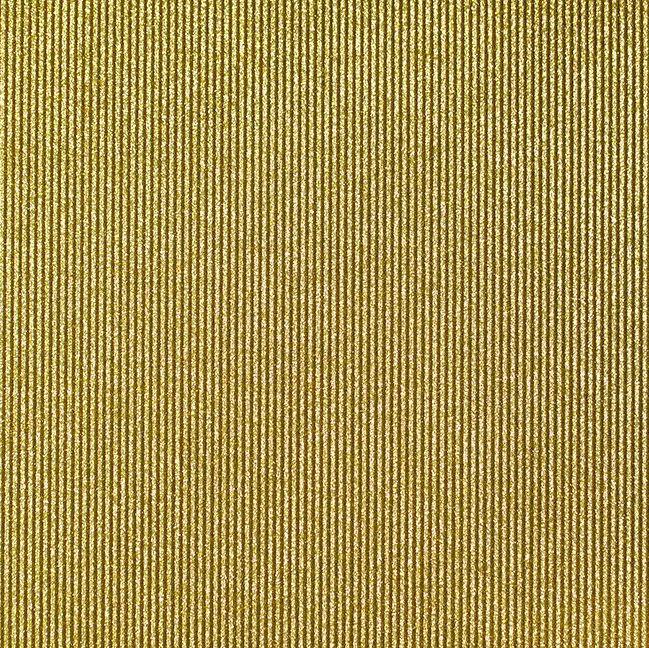 דף גליטר - Glitter Paper - Corrugated - Gold