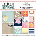 Misc Me Pocket Squares Journaling Cards - Sweet Life