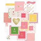 "Project Life 4""X4"" Cards - Baby Girl"