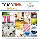 Misc Me Pocket Squares Journaling Cards - Calendar Girl