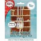 קיט מקרמה - Modern Macrame Hanging Jar Kit