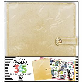 Happy Planner Deluxe Big Planner Covers - Gold