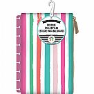 Create 365 Planner Pouch - Pink With Painted Multi Stripe