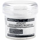 אבקת הבלטה דביקה - Sticky Embossing Powder