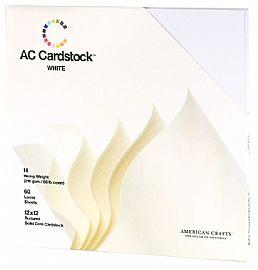 AC Cardstock white
