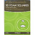 Foam Squares Combo Pack - White דבק תלת מימד