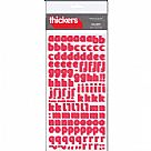 Thickers Foam Stickers- Delight אדום