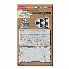 Andy Skinner Cling Rubber Stamp Set - Toxic