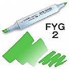 Copic Sketch Marker - FYG2 Fluorescent Dull Yellow Green