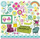 "DELOVELY 12'X12"" CHIPBOARD"