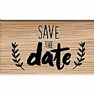 Save the Date Wooden Stamp