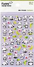 מדבקות לבד - Funny Sticker World - Panda
