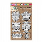 Andy Skinner Cling Rubber Stamp Set - Shabby Chic