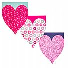Valentine's Day Heart-Shaped Paper Pad