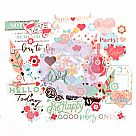 My Prima Planner Embellishments - Be Happy - Ephemera Pack