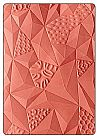 תבנית הבלטה - 3-D Embossing Folder - Jumbled Triangles