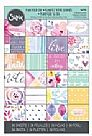 "Sizzix Paper - 4"" x 6"" Cardstock Pad - Plan Your Day"