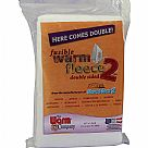 "Warm Fleece Polyester Double Sided Fusible Batting 36""X45"""