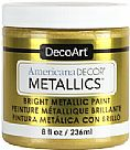Americana Decor Metallics - Soft Gold