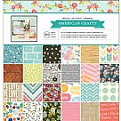"Paper Pad 12""X12"" - Best Of American Crafts"