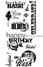 חותמות סיליקון - Birthday Fun - Clear Stamp Set
