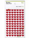 מדבקות לבד - Funny Sticker World - Heart