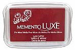 Memento Luxe Ink Pad - Love Letter