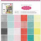 "Paper Pad 12""X12"" - Best Of Pink Paislee"