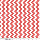 בד כותנה - C340-79 - Small Chevron in Color Rouge
