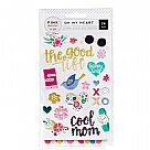 Oh My Heart Collection - Puffy Stickers