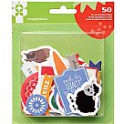 Heartland Farm Collection - Die Cut Cardstock Pieces