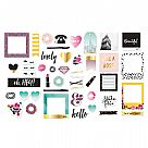 Urban Chic Collection - Ephemera with Foil Accents