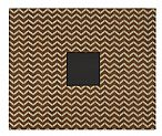 Patterned Album 12X12 D-Ring - Woodgrain Chevron