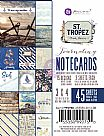 St. Tropez Collection - 3X4 Journaling Cards