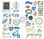 St. Tropez Collection - Chipboard Stickers