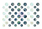 St. Tropez Collection - Say It In Crystals - Self Adhesive Jewels