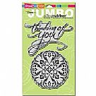 Thinking of You - Cling Stamp Set