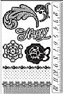 Rosarian - Cling Stamp Set