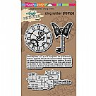 Andy Skinner Cling Rubber Stamp Set - Steampunk