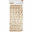 Outfitters Meadow Copper Foil Chipboard Letter