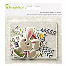 Welcome Spring Die Cut - Bunny Friends