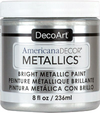 Americana Decor Metallics - Sterling Silver
