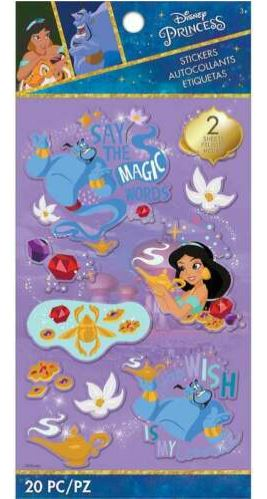 מדבקות - Disney ALADDIN Stickers