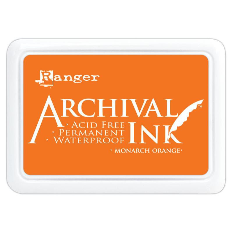 Archival Ink Pad - Monarch Orange